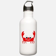 Crab Design Water Bottle