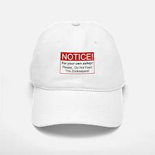 Notice / Zookeepers Baseball Baseball Cap