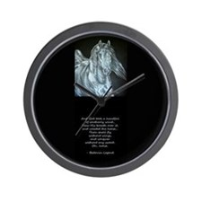 Legend of the Horse Wall Clock