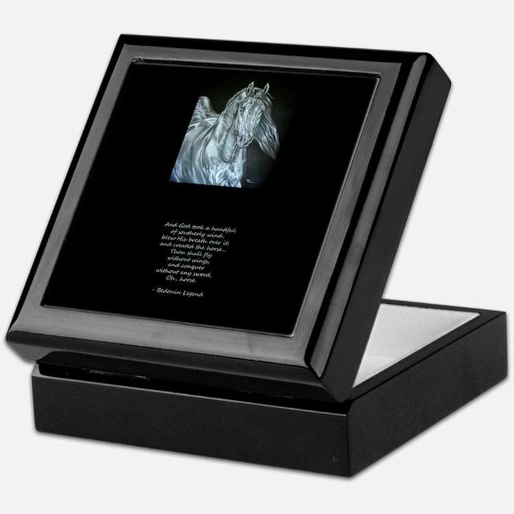 Legend of the Horse Keepsake Box