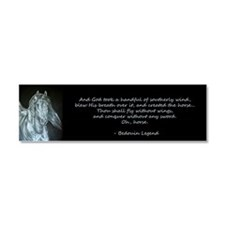 Legend of the Horse Car Magnet 10 x 3