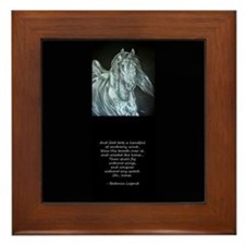 Legend of the Horse Framed Tile