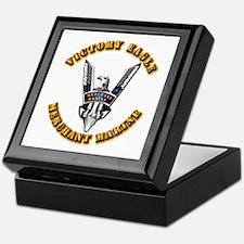 Army - Merchant Marine - Victory Eagle Keepsake Bo