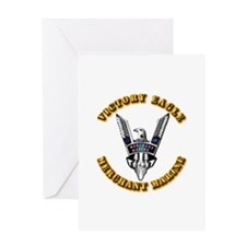 Army - Merchant Marine - Victory Eagle Greeting Ca