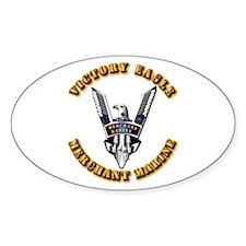 Army - Merchant Marine - Victory Eagle Decal