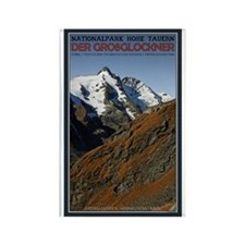 Großglockner Rectangle Magnet