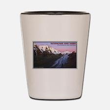 Pasterze Valley Dawn Shot Glass