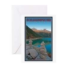 Rock Cairns Greeting Card