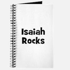 Isaiah Rocks Journal