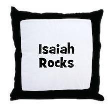 Isaiah Rocks Throw Pillow