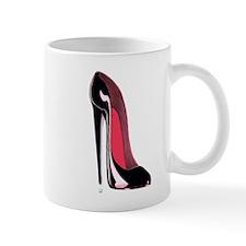 Black Stiletto Shoe Mug