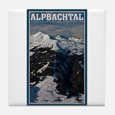 Alpbahtal Tile Coaster