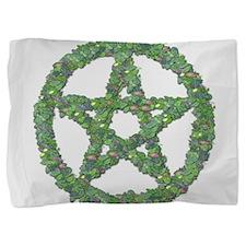 Leaf Pentacle Pillow Sham