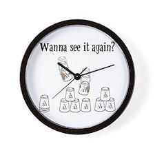See It Again? Wall Clock