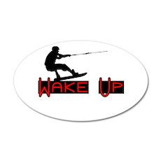 Wake Up 1 22x14 Oval Wall Peel