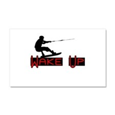 Wake Up 1 Car Magnet 20 x 12