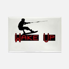 Wake Up 1 Rectangle Magnet (100 pack)