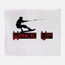Wake Up 1 Throw Blanket