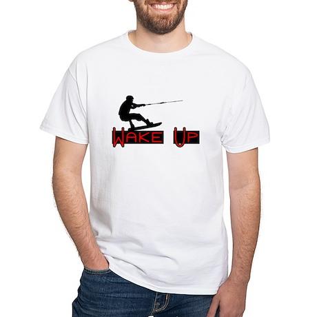 Wake Up 1 White T-Shirt