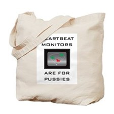 Heartbeat Monitors Tote Bag