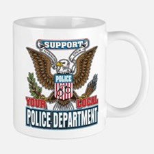 Support Your Local Police Mug