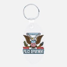 Support Your Local Police Keychains