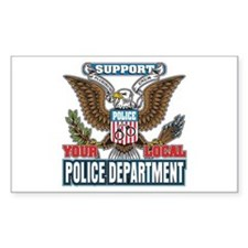 Support Your Local Police Decal