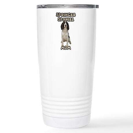 Springer Spaniel Mom Stainless Steel Travel Mug