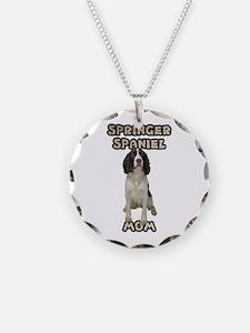 Springer Spaniel Mom Necklace