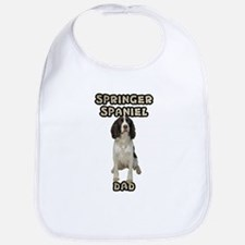 Springer Spaniel Dad Bib