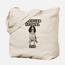Springer Spaniel Dad Tote Bag