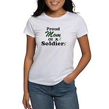 Proud Mom 2 Soldiers Tee