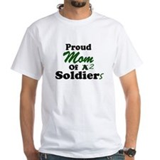 Proud Mom 2 Soldiers Shirt