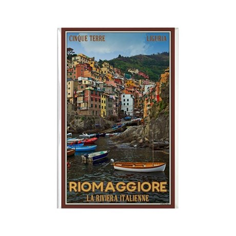 Riomaggiore Rectangle Magnet
