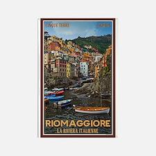 Riomaggiore Rectangle Magnet