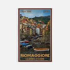 Riomaggiore Rectangle Magnet (10 pack)