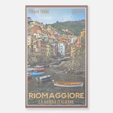 Riomaggiore Sticker (Rectangle)