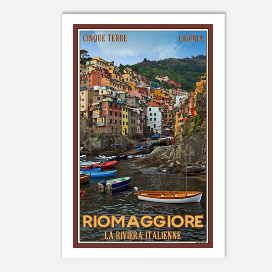 Riomaggiore Postcards (Package of 8)