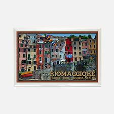 Riomaggiore Waterfront Rectangle Magnet
