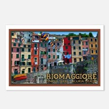 Riomaggiore Waterfront Postcards (Package of 8)