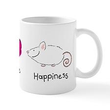 Peace Love and Rats Coffee Mug