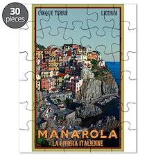 Manarola Town Puzzle