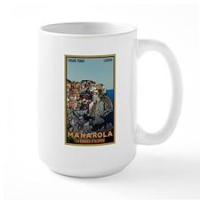Manarola Town Ceramic Mugs