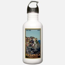 Manarola Town Water Bottle