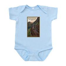 Cinque Terre Railway Infant Bodysuit
