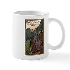 Cinque Terre Railway Small Mugs
