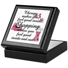 Retail Therapy Keepsake Box