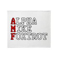 AMF Throw Blanket
