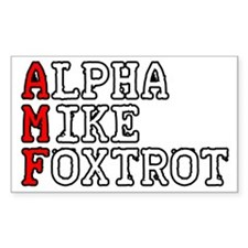 AMF Decal