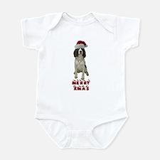 Springer Spaniel Christmas Infant Bodysuit